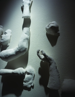 Detail: King Of The Yard, Plaster, 2016