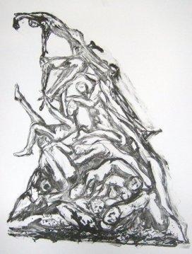 Crawl to Grace, Lithograph 2008