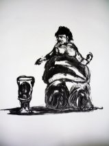Your Wants Exceed Your Needs, Lithograph, 2009