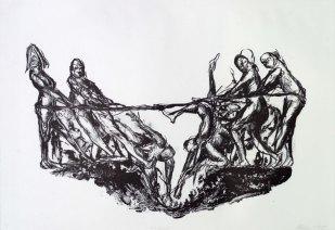 The Struggle, Lithograph, 2009