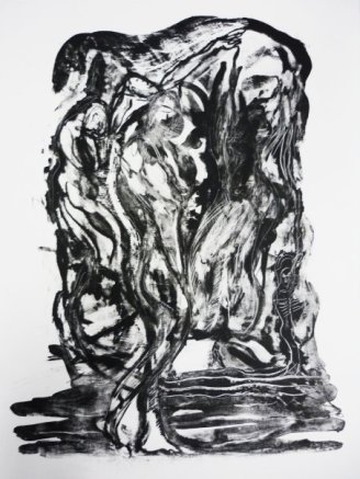 To Wait and Wonder, Lithograph 2008