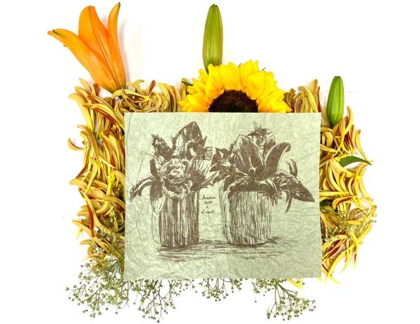 twosacrowdonasunflower